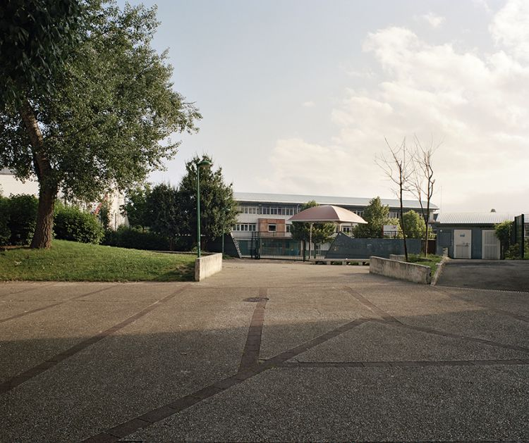 Parvis Louis-Delgrès, (Louis Delgrès Square), in front of Collège Anatole France (Anatole France Junior High School), 34 bis avenue du Maréchal-Pierre-Koenig, Sarcelles, France, 2013