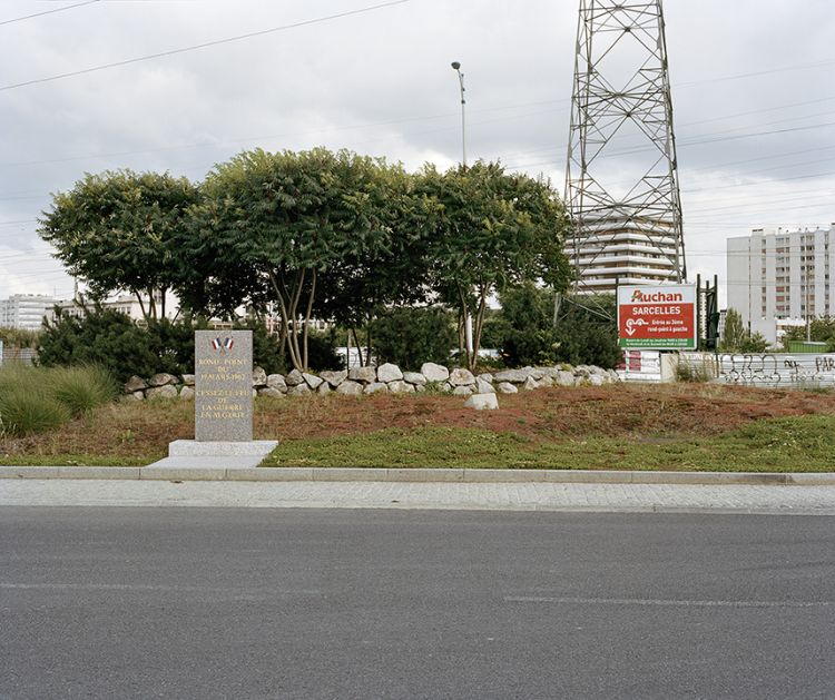 Rond-point du 19-Mars-1962 (Roundabout of 19 March 1962), Sarcelles, France, 2012